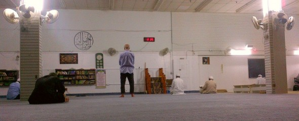 002 - Jaame Masjid Scarborough - Central Mosque Scarborough - Prayer Hall - Sunday June 22 2015