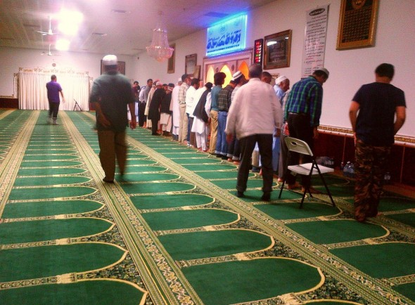 004 - Ummah Nabawiah Masjid - Salat al Maghrib - The Sunset Prayer - Sunday June 21 2015
