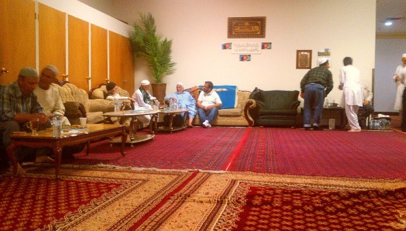 007 - Ummah Nabawiah Masjid - After Iftar Dinner - Awaiting Isha - Sunday June 21 2015