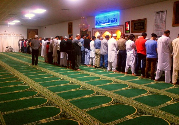 007 - Ummah Nabawiah Masjid - Salat al Isha - The Night Prayer - Sunday June 21 2015