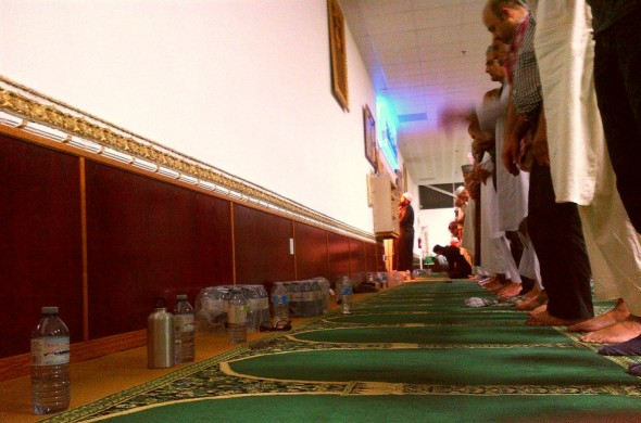 008 - Ummah Nabawiah Masjid - Salat al Tarawih- Front Row - The Night Prayer - Sunday June 21 2015