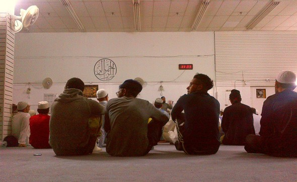 009 - Jaame Masjid Scarborough - Central Mosque Scarborough - After 4 Rakats of Tarawih - Sunday June 22 2015