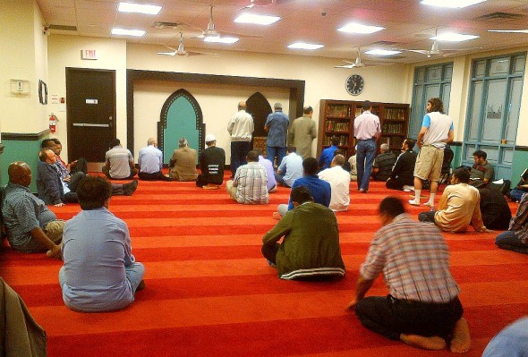 009 - Masjid Toronto - Adhan al Isha - Call to Night Prayer - 168 Dundas Street West - June 24 2015