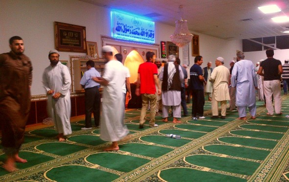 010 - Ummah Nabawiah Masjid - Finished Praying Witr and Tarawih and Isha - Sunday June 21 2015