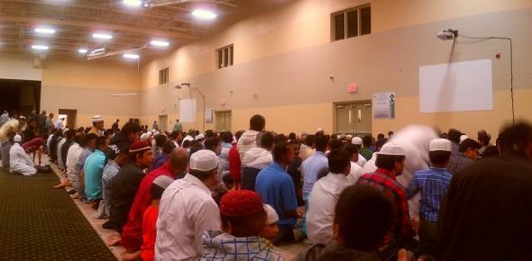 012 - IIT - Islamic Institute of Toronto - Ramdan Lecture & Iftar Program - Salat al Maghrib - Sunset Prayer - Saturday June 20 2015