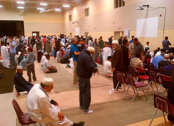 013 - IIT - Islamic Institute of Toronto - Ramdan Lecture & Iftar Program - Sunnah for Salat al Maghrib - Sunset Prayer - Saturday June 20 2015