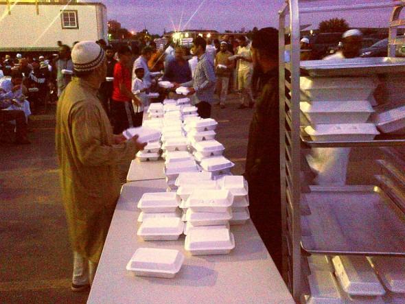016 - IIT - Islamic Institute of Toronto - Ramdan Lecture & Iftar Program - Iftar Dinner Trays - Saturday June 20 2015
