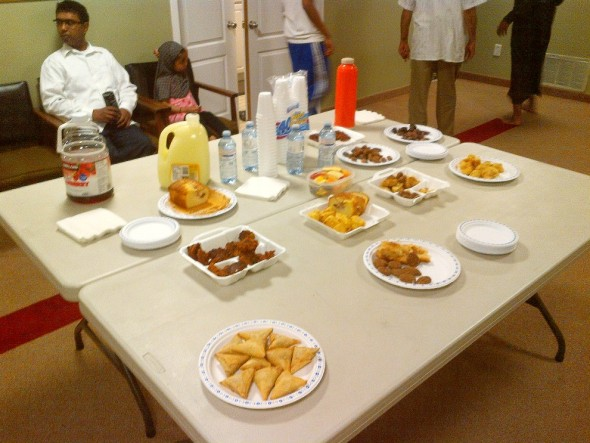 Bosnian Islamic Centre - Iftar Table - June 18 2015