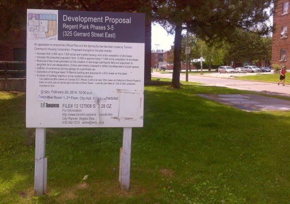 Development Proposal Regent Park Phases 3-5 325 Gerrard Street East
