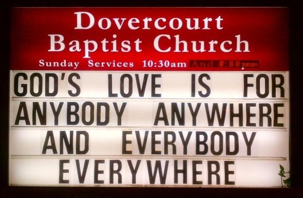 Dovercourt Baptist Church Message Board - Wednesday June 17 2015