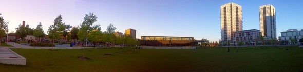Regent Park - The Big Park - Approaching Sunset - June 23 2015