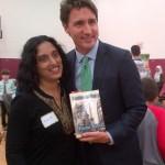 004 - Vinita Kinra - Justin Trudeau - Ramadan Interfaith Dinner - Faith of Life Network - June 25 2015
