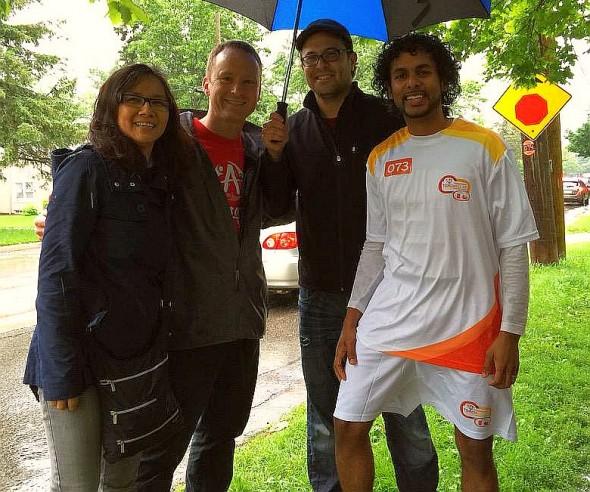 007 - Jeewan Chanicka - Toronto 2015 PanAm Torchbearer 73 - June 27 2015