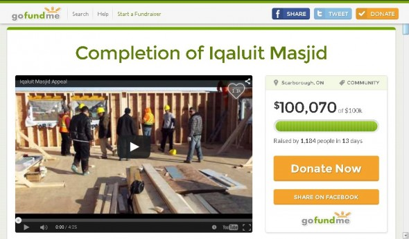 Iqaluit Masjid 100,070