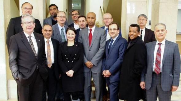 Kawartha Muslim Religious Association - Jumah - Elected and Consuls General - Friday November 20 2015 - 001