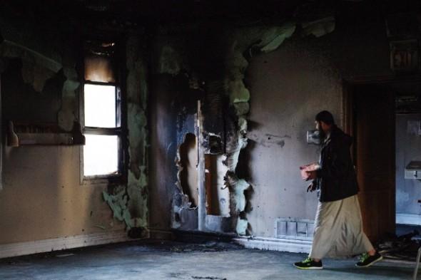 Kawartha Muslim Religious Association - Masjid Al-Salam - Fire - 002