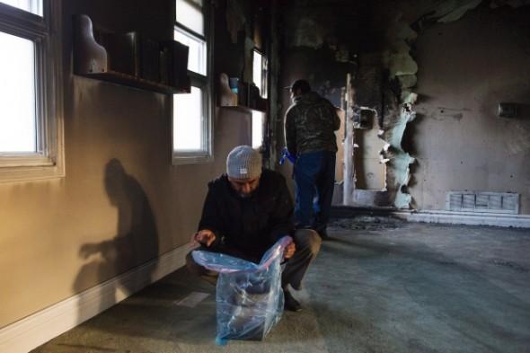 Kawartha Muslim Religious Association - Masjid Al-Salam - Fire - 003