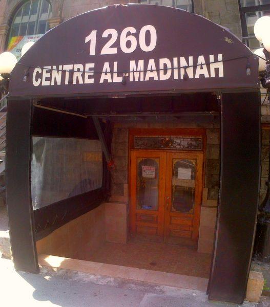 01 - Centre Al-Madinah - 1260 Rue Mackay - Montreal, Quebec - Jumah - Friday June 17 2016