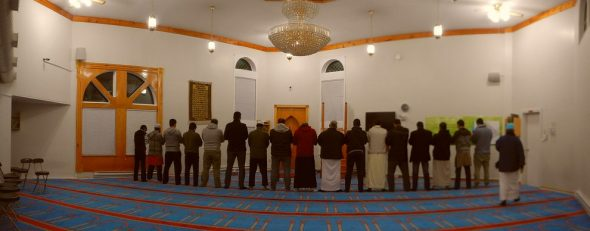 01 - Fajr - Dawn Prayer - Masjid Al-Noor, Muslim Association of Newfoundland and Labrador, St John's - Tuesday June 7 2016
