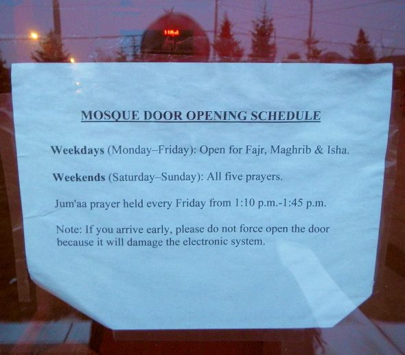 02 - Fajr - Masjid al-Noor - 430 Logy Bay Road, St John's Newfoundland and Labrador