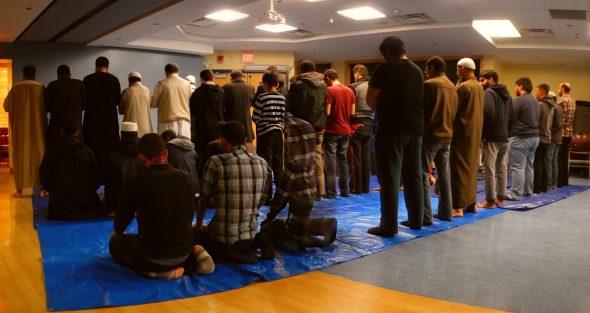 03 - Night 1 - Taraweeh - Muslim Students Association - The Landing - Student Centre - Memorial University