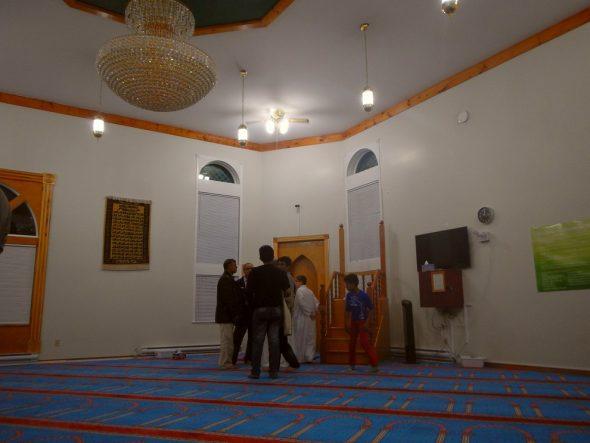 04 - Taraweeh - Masjid al-Noor - 430 Logy Bay road - St John's, Newfoundland and Labrador - Monday June 6 2016