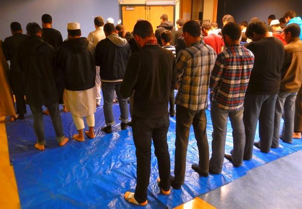 05 - Night 1 - Taraweeh - Muslim Students Association - The Landing - Student Centre - Memorial University