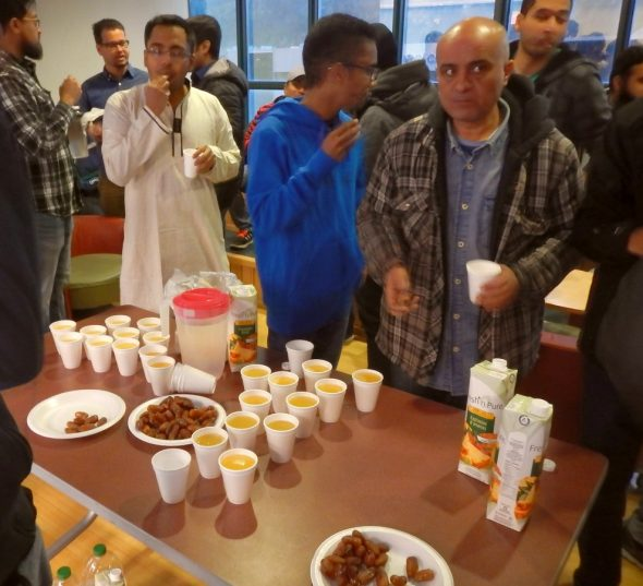07 - IFTAR - Muslim Students Association - Memorial University - St John's Newfoundland - June 7 2016