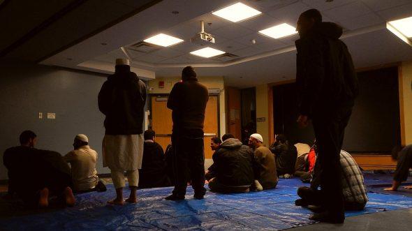 07 - Night 1 - Taraweeh - Muslim Students Association - The Landing - Student Centre - Memorial University