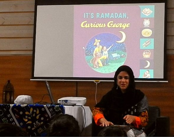 10 - It's Ramadan Curious George - Hena Khan - Manitoba Islamic Association - 2445 Waverley Rd - Winnipeg