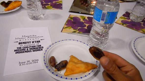24-c - Manitoba Islamic Association - Benefit Iftar supporting Coalition for Missing and Murdered Indigenous Women - Winnipeg Grand Mosque