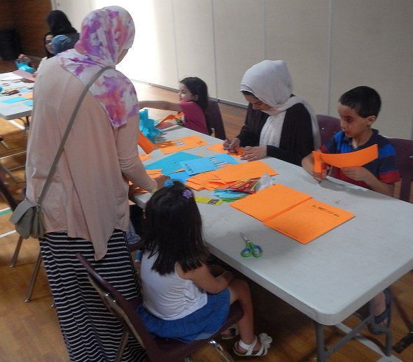 42 - It's Ramadan Curious George - Hena Khan - Manitoba Islamic Association - 2445 Waverley Rd - Winnipeg