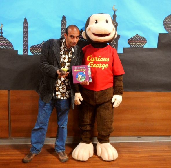 52 - HiMY SYeD with Curious George - It's Ramadan Curious George - Hena Khan - Manitoba Islamic Association - 2445 Waverley Rd - Winnipeg